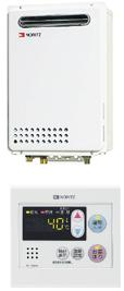 NORITZ GQ-1639WE + 台所リモコン RC-7606M