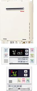 Rinnai RUF-A1610SAW(A) + マルチリモコン MBC-120V(浴室・台所リモコン)