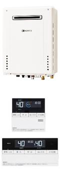 NORITZ GT-2460AWX BL + マルチリモコン RC-D101(浴室・台所リモコン)